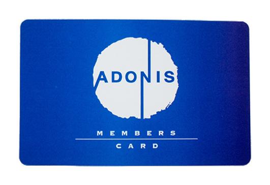 アドニス メンバーズカード